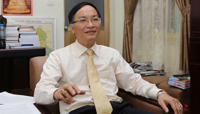 Phó giám đốc phụ trách Sở Giáo dục và Đào tạo Hà Nội Phạm Văn Đại. Ảnh: Báo Giáo dục và Thời đại.