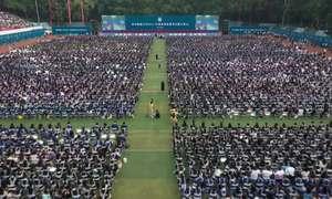 Vũ Hán sổ lồng với lễ 11.000 người không đeo khẩu trang