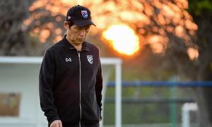 HLV Nishino xin lỗi vì thất bại của Thái Lan