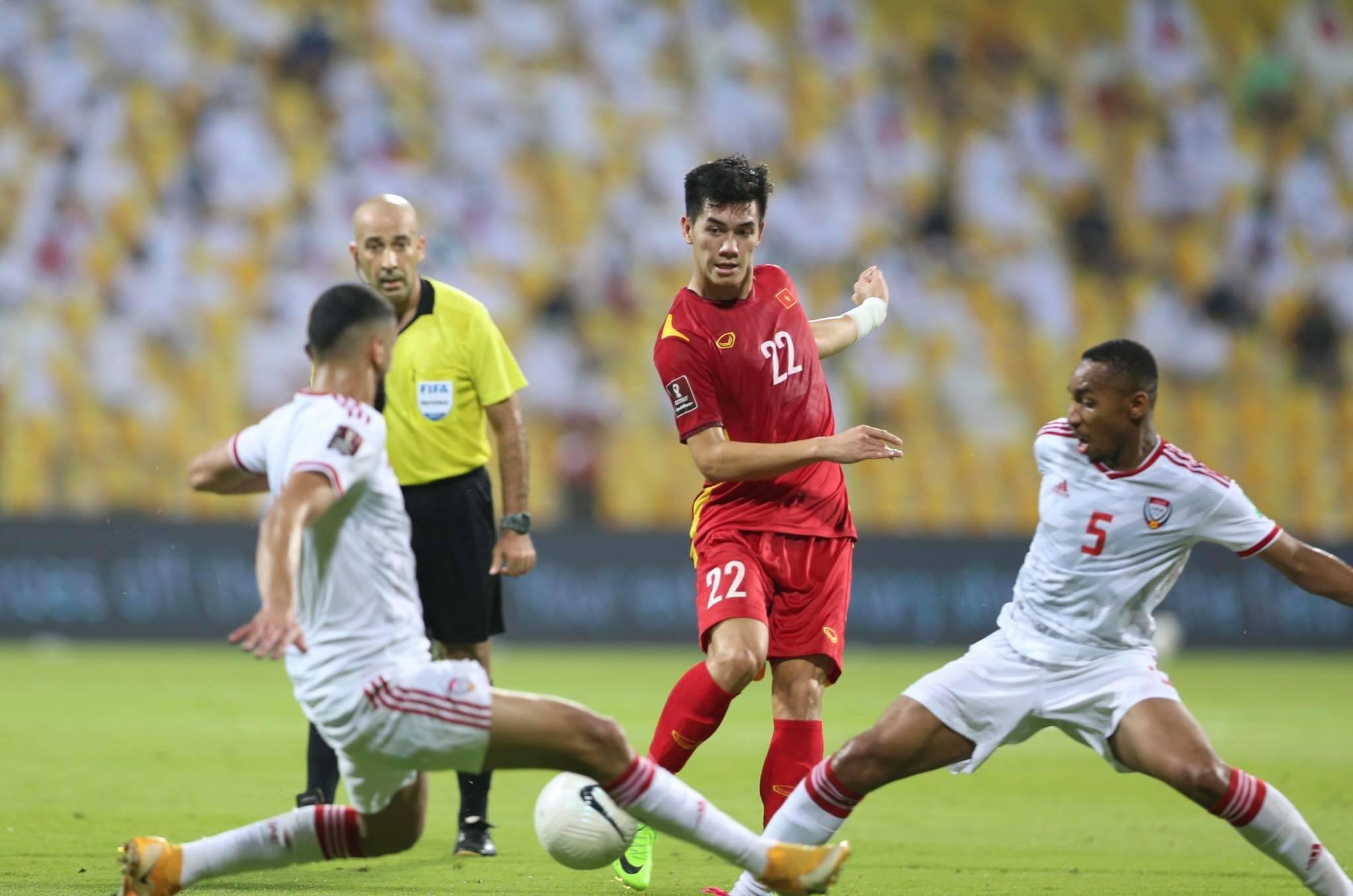 Việt Nam trở thành đại diện duy nhất của bóng đá Đông Nam Á tại giai đoạn ba vòng loại World Cup 2022. Ảnh: Lâm Thoả