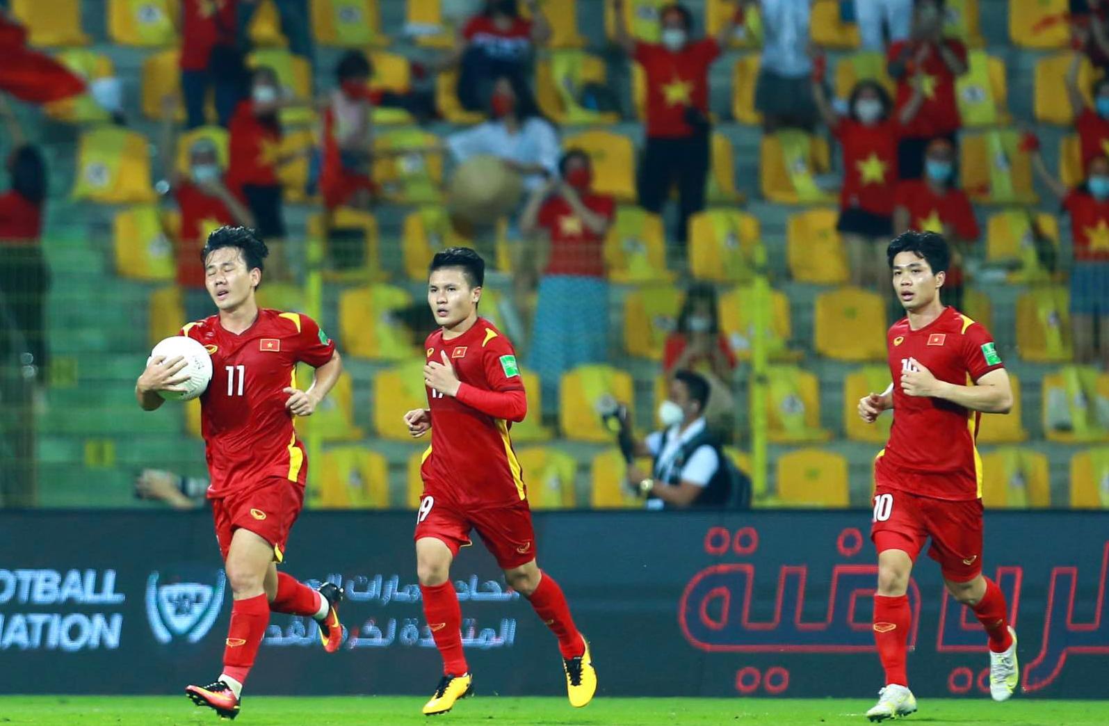 Việt Nam là đại diện duy nhất của Đông Nam Á lọt vào vòng loại cuối World Cup 2022 khu vực châu Á. Ảnh: Lâm Thoả.