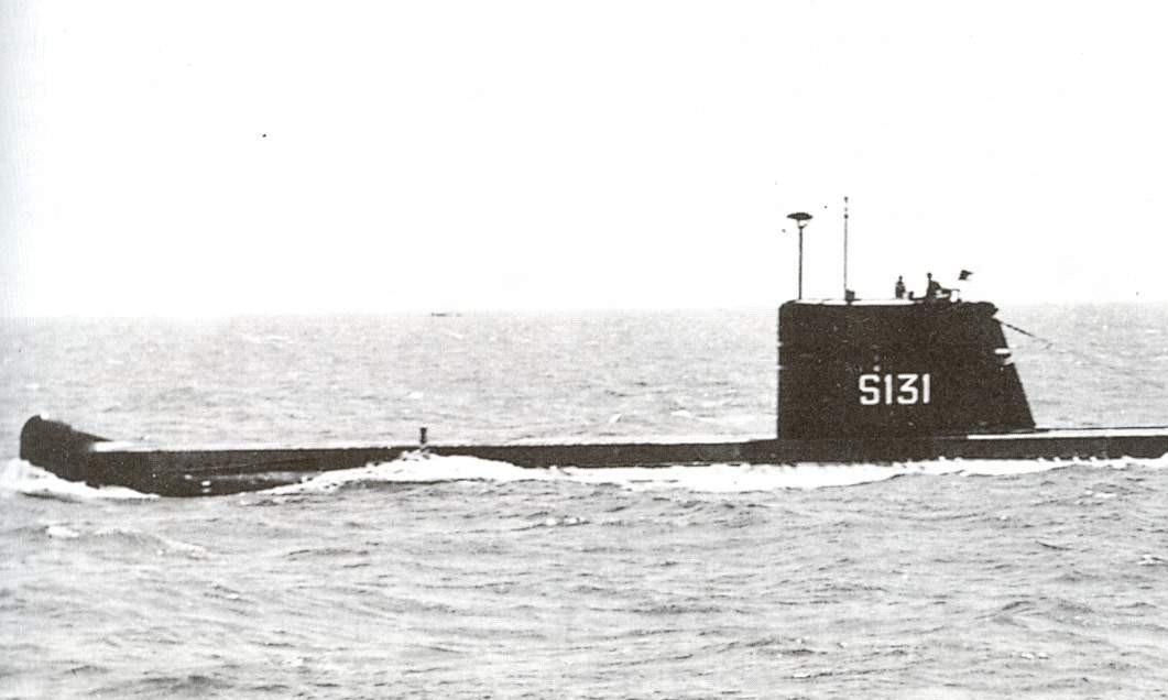 PNS Hangor trong một chuyến ra khơi. Ảnh: Wikipedia.