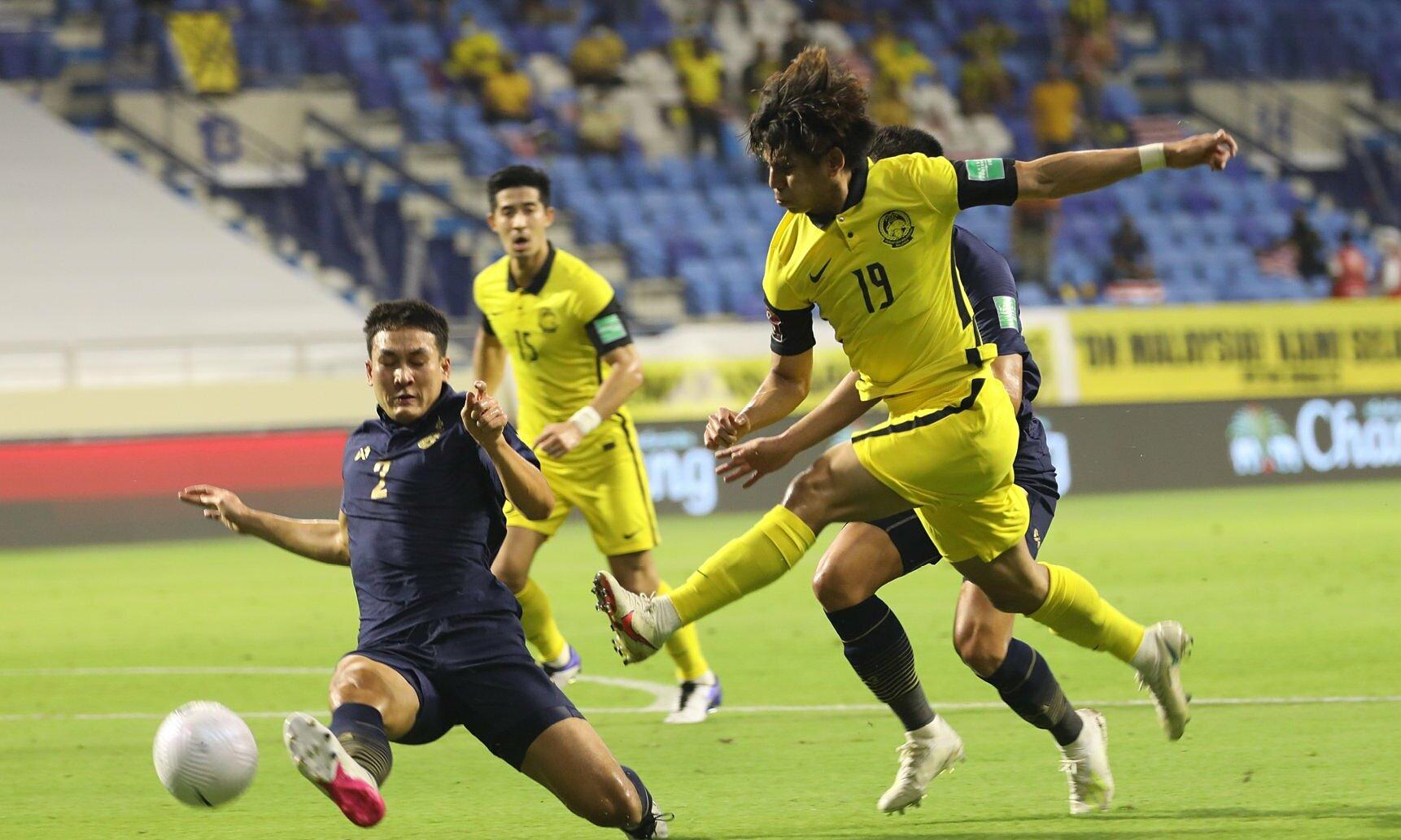 Malaysia đáng ra phải ghi được nhiều hơn một bàn, từ số cơ hội họ tạo ra. Ảnh: FAM