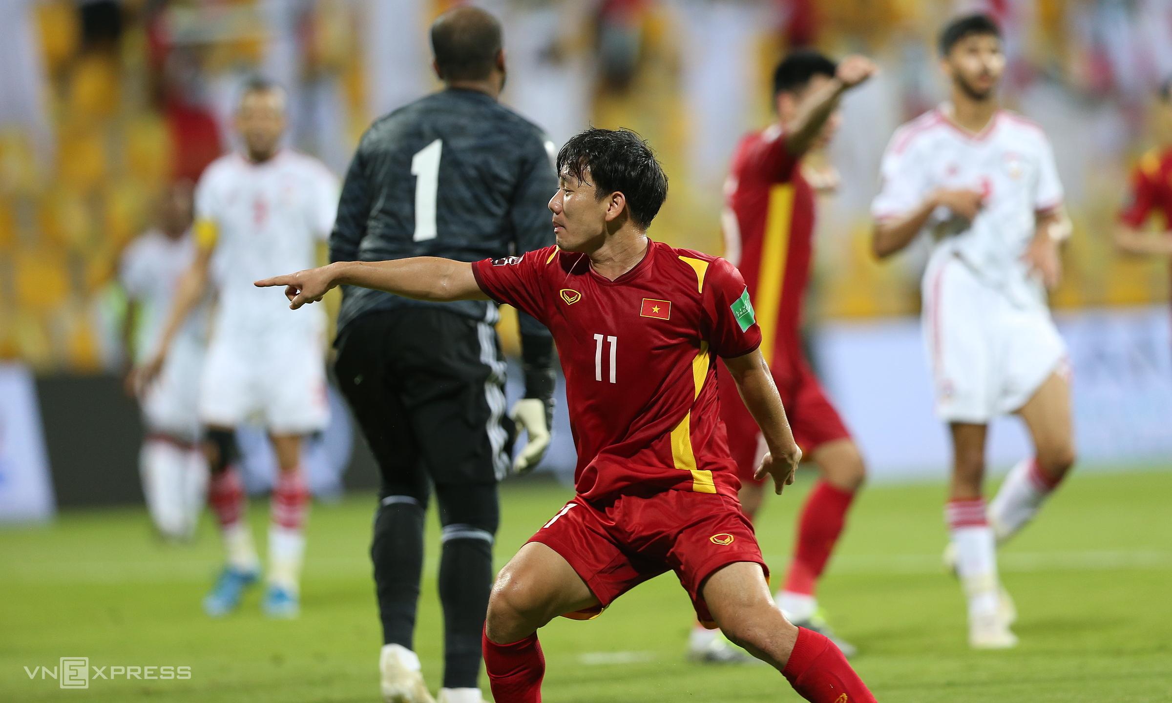 Vietnam memiliki kemampuan untuk menghadiri Piala Dunia, meski tidak terlalu tinggi.  Foto: Lam Thoa