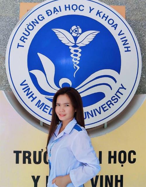 Som Oh hiện là sinh viên năm 2 ngành Điều dưỡng. Ảnh: NVCC.
