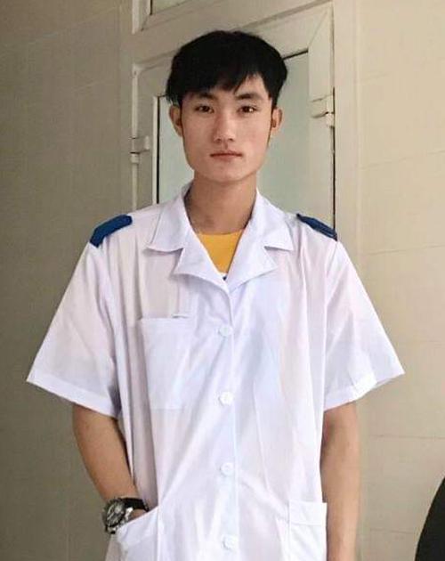 Yênh Xua Lỳ muốn tham gia hỗ trợ phòng chống dịch để được trải nghiệm về chuyên môn và rèn luyện tiếng Việt. Ảnh: NVCC.