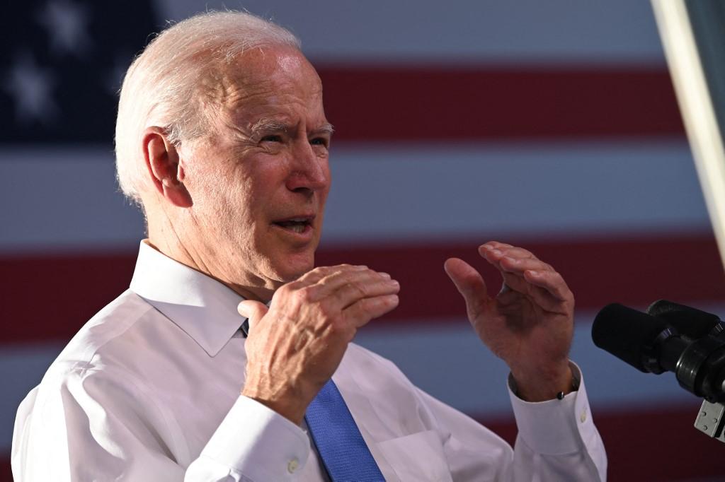 Tổng thống Biden trong cuộc họp báo tại Gen