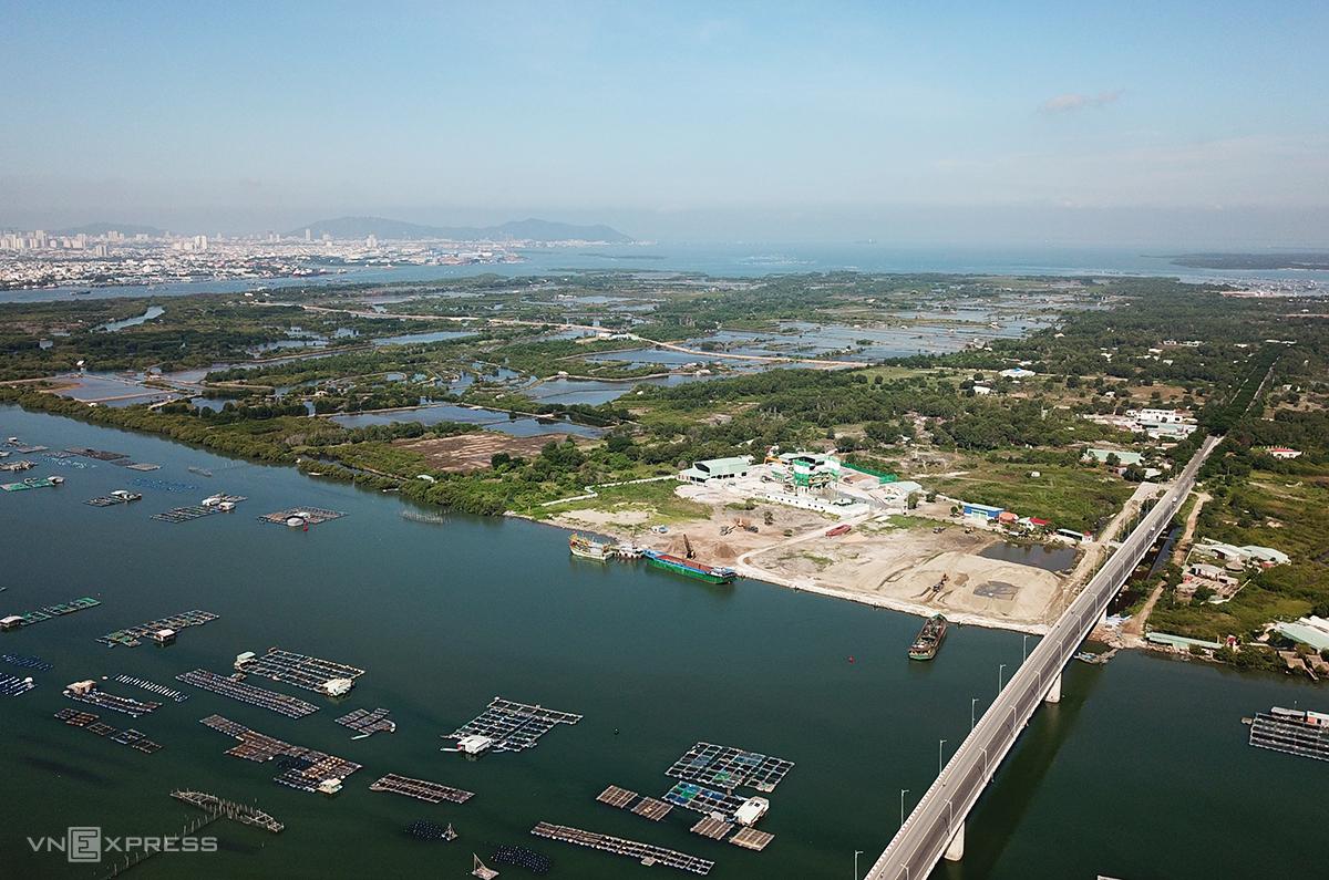 Đảo Gò Găng (xã Long Sơn) nơi dự kiến xây sân bay thay thế sân bay Vũng Tàu. Ảnh: Trường Hà.