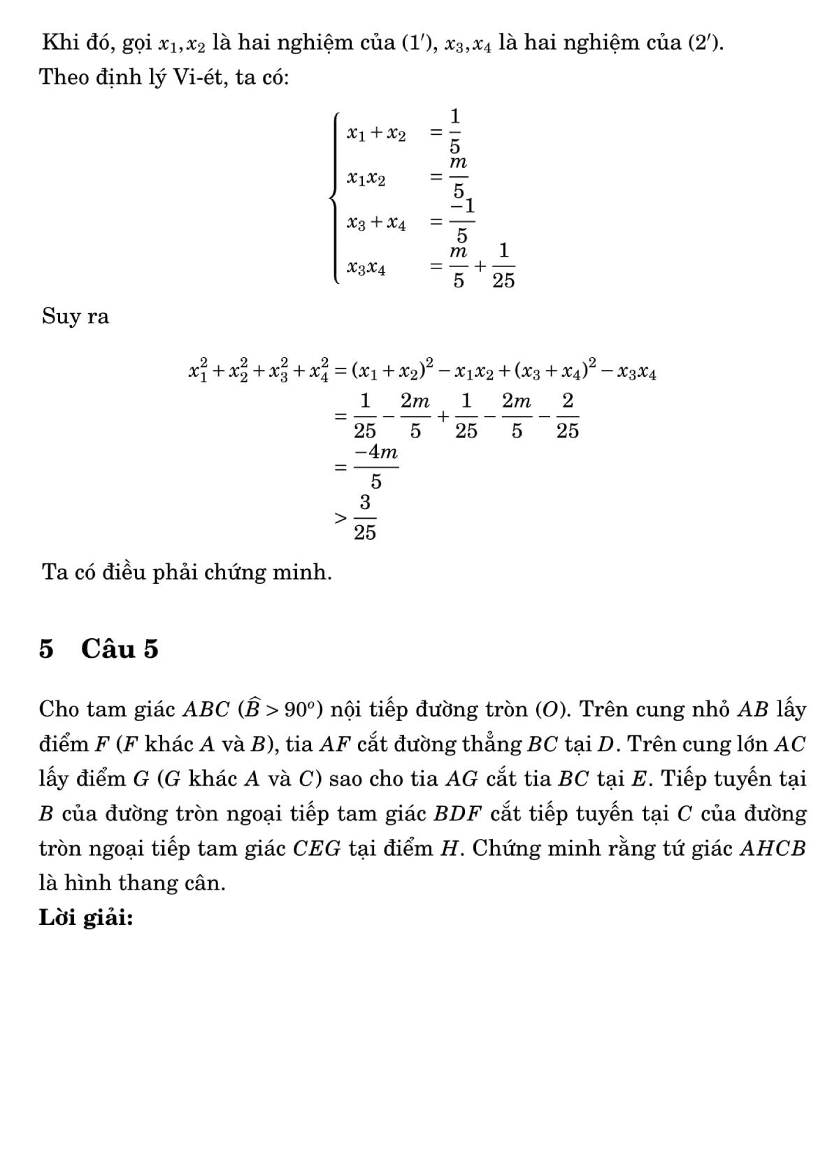 Giải đề Toán chuyên vào lớp 10 ở Đà Nẵng - 6