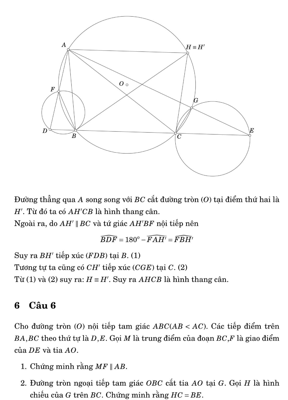 Giải đề Toán chuyên vào lớp 10 ở Đà Nẵng - 7