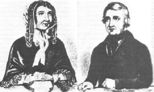 Marie và Frederick Manning. Ảnh: Southwark News.