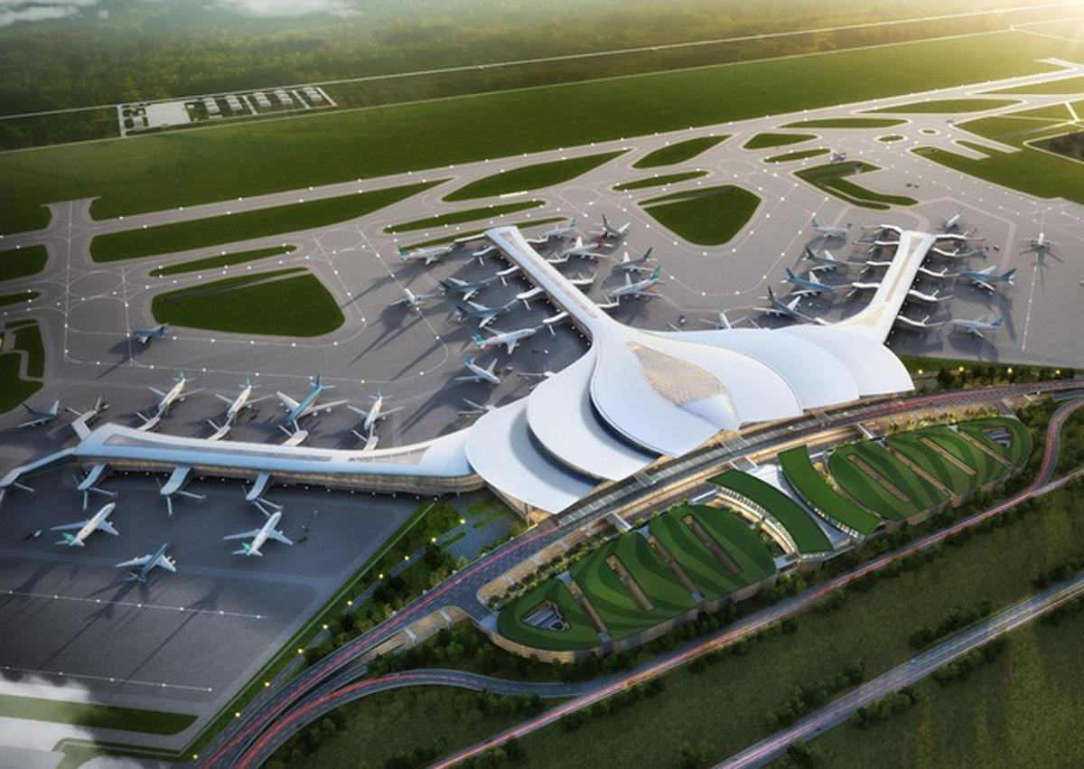 Phối cảnh sân bay quốc tế Long Thành. Ảnh: ACV