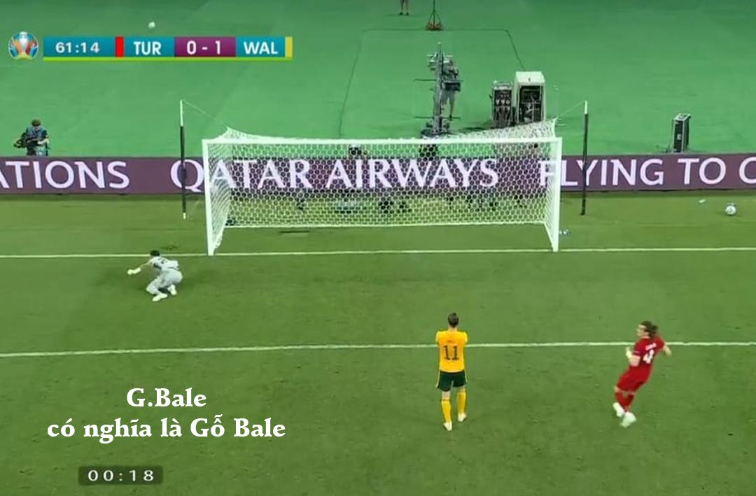 G.Bale có nghĩa là Gỗ Bale.