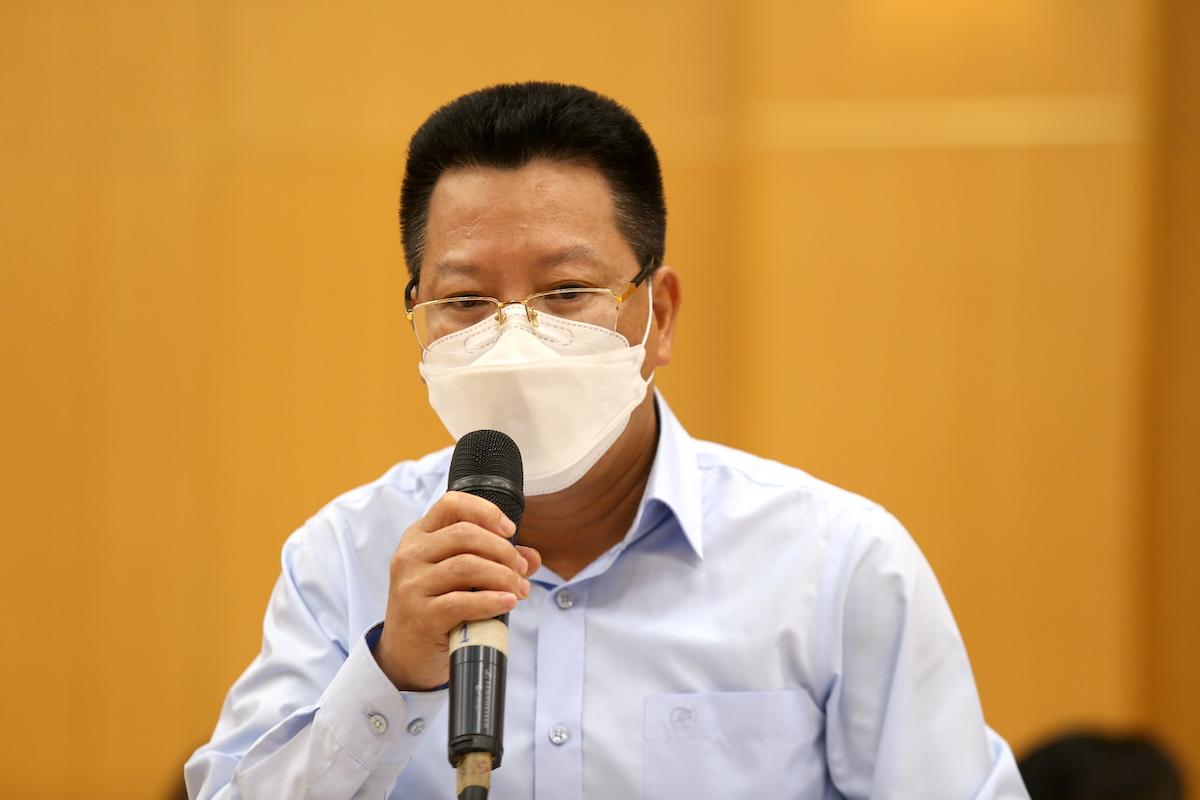 Ông Nguyễn Đức Long, Phó Ban quản lý các Khu công nghiệp Bắc Ninh. Ảnh: Gia Chính