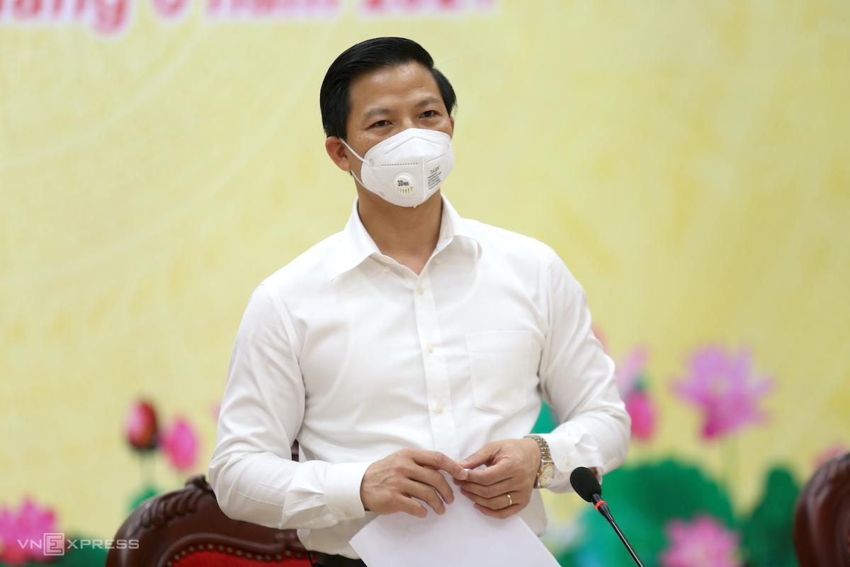 Ông Vương Quốc Tuấn, Phó Chủ tịch UBND tỉnh Bắc Ninh. Ảnh: Gia Chính