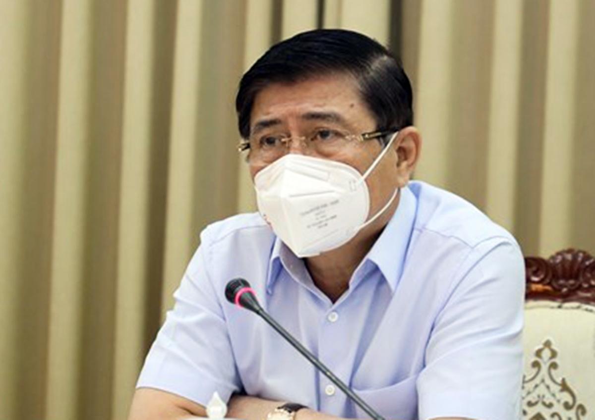 Chủ tịch UBND TP HCM Nguyễn Thành Phong. Ảnh: Trung tâm báo chí TP HCM.