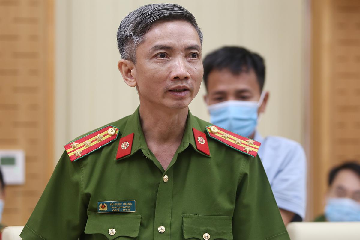 Đại tá Vũ Quốc Thắng. Ảnh: Phạm Dự.