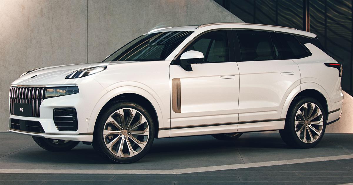 09 sở hữu thiết kế hiện đại, với một chi tiết gợi nhớ tới xe Range Rover là khe gió giả bên sườn. Ảnh: Lynk & Co
