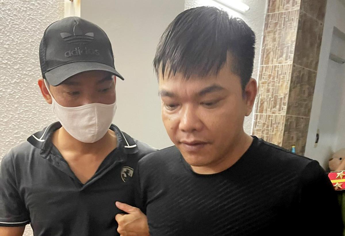Nghi can Nguyễn Văn Quyền - Phụ trách kỹ thuật sàn Hitoption.net. Ảnh: Công an cung cấp