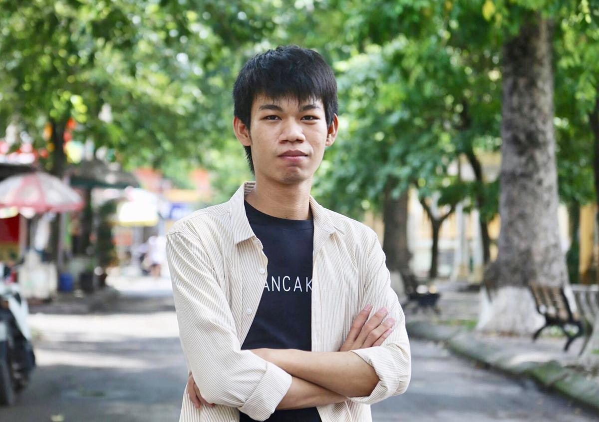 Vun Liem hiện học năm tư tại Đại học Bách khoa Hà Nội. Ảnh: Dương Tâm.