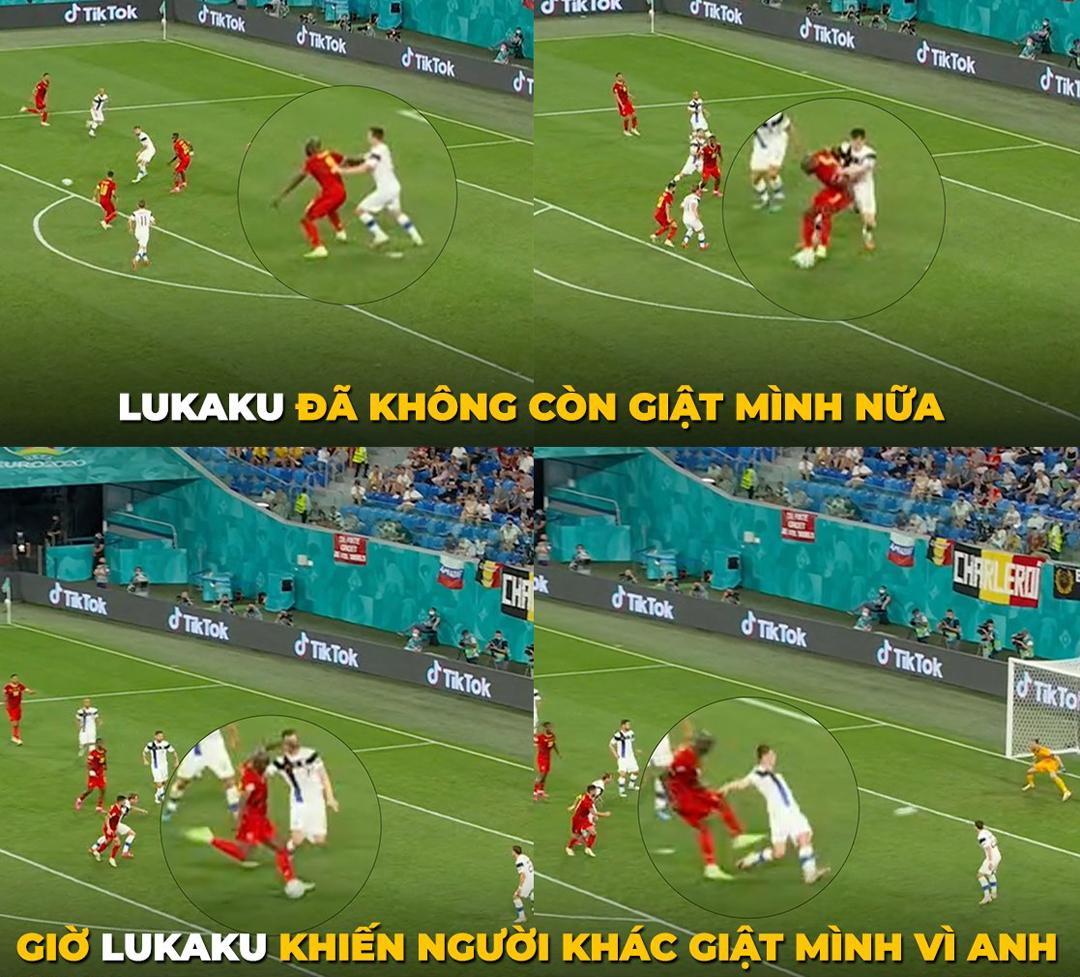 Lukaku không còn vui tính như trước nữa.