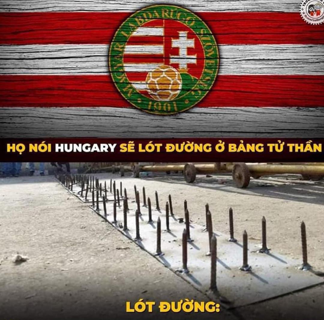 Cuối cùng, tiếc nuối nhất là Hungary khi họ đã cầm hòa cả Pháp và Đức ở bảng tử thần...