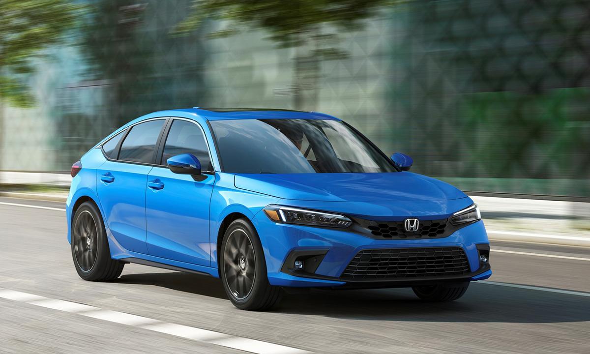 Civic Hatchback thế hệ mới giới thiệu tại Mỹ. Ảnh: Honda