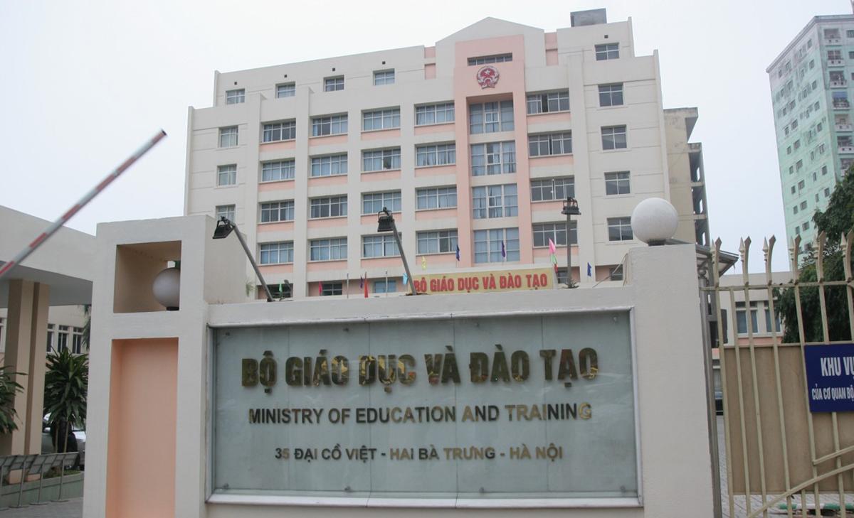 Trụ sở Bộ Giáo dục và Đào tạo. Ảnh: MOET