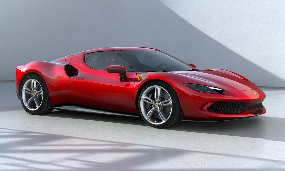 Siêu xe hybrid 296 GTB. Ảnh: Ferrari
