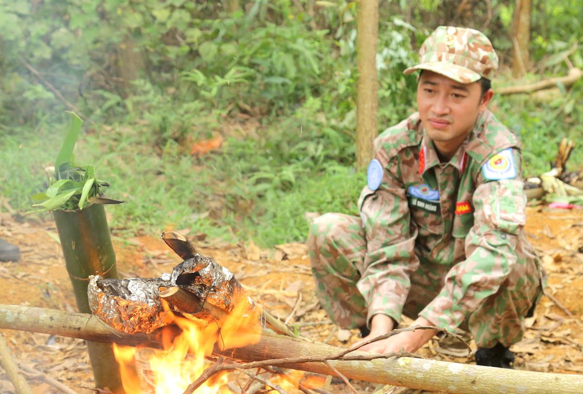 Lính mũ nồi xanh luyện kỹ năng sinh tồn - page 2 - 8