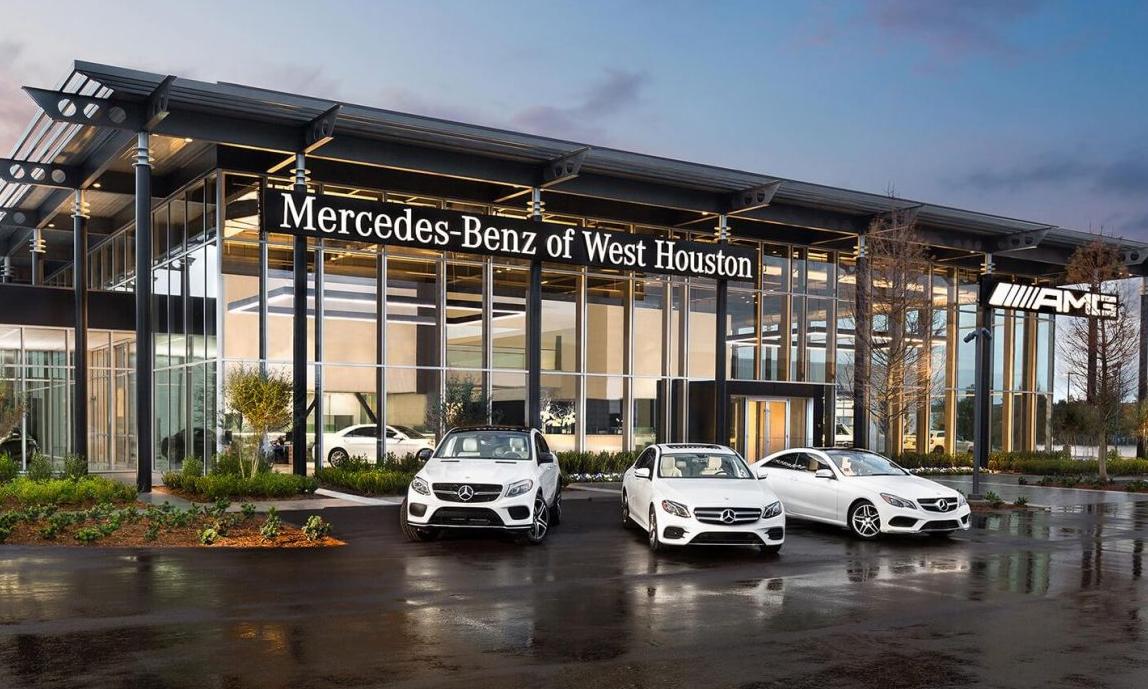 Một đại lý Mercedes tại Mỹ. Ảnh: Benzinsider