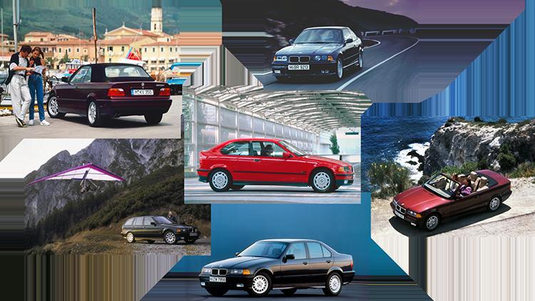 BMW 3 series thế hệ thứ ba.