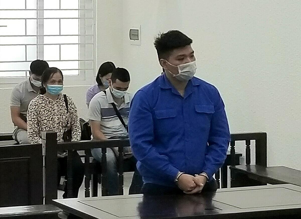 Bị cáo Nguyễn Xuân Tính tại phiên xét xử sáng 28/6. Ảnh: Hải Thư