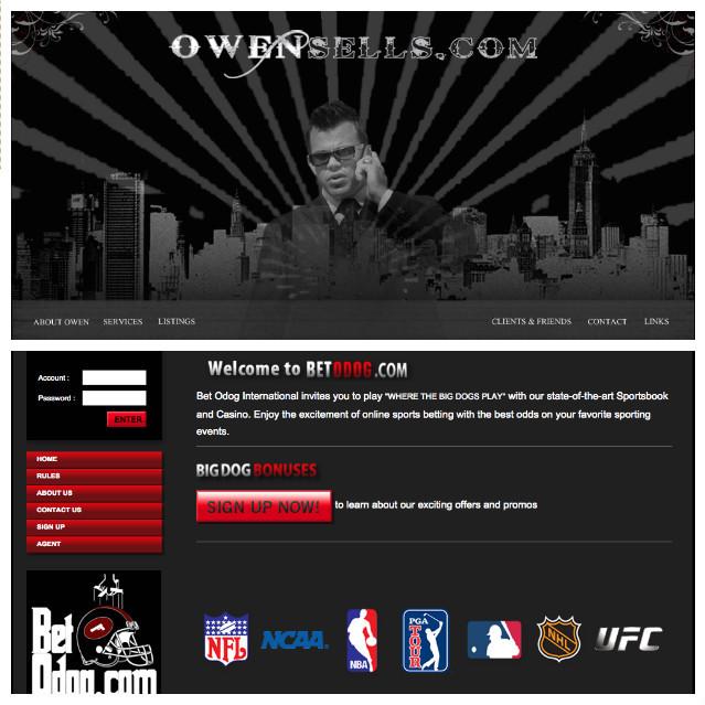 Trang web cá cược bóng đá Owensells.com do Hason điều hành thu lợi hàng triệu USD mỗi năm. Ảnh: Vice