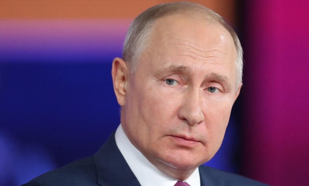 Tổng thống Nga Putin tại Moskva ngày 30/6. Ảnh: AFP.