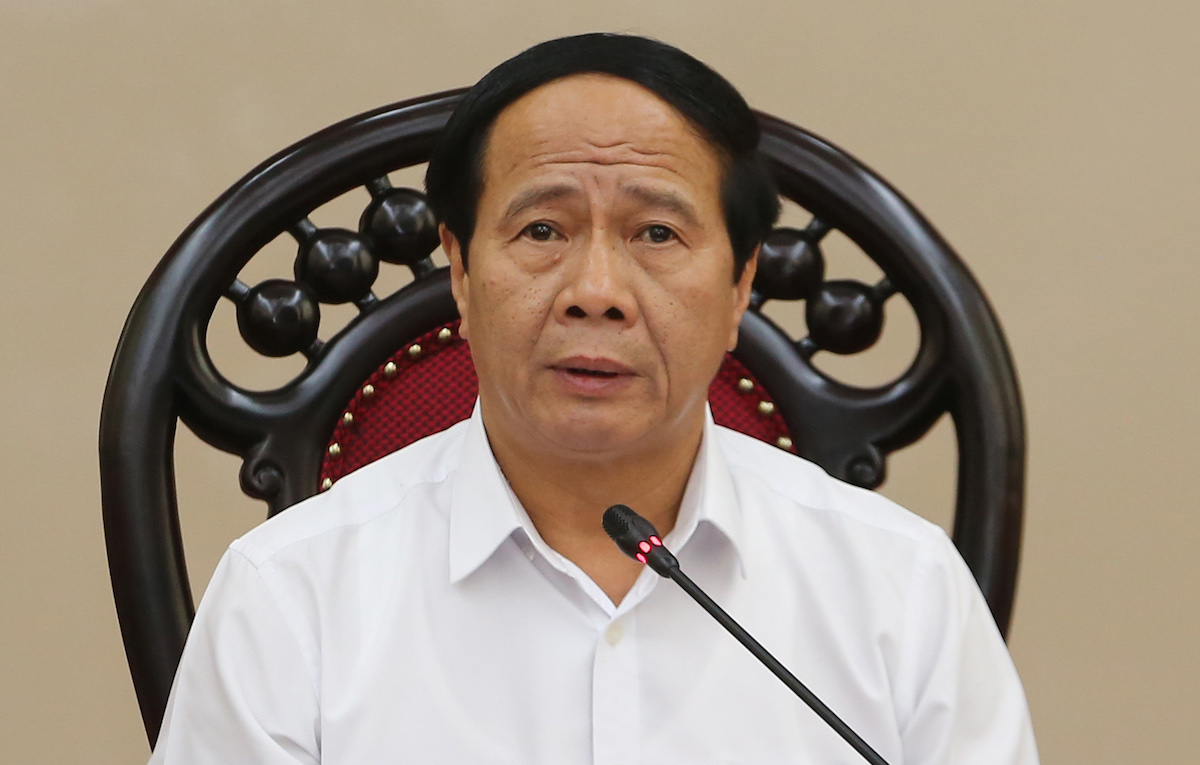 Phó thủ tướng Lê Văn Thành. Ảnh: Đức Tuân.