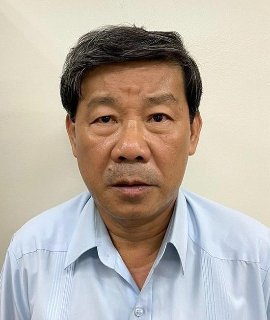 Ông Trần Thanh Liêm tại cơ quan điều tra. Ảnh: Bộ Công an.