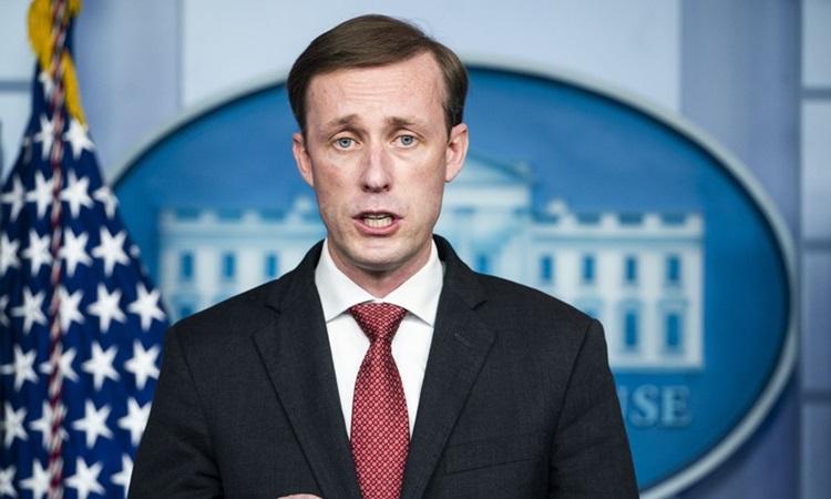 Cố vấn An ninh Quốc gia Mỹ Jake Sullivan. Ảnh: Bloomberg.