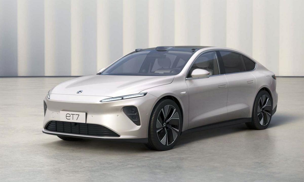 ET7 - sedan đầu tiên của Nio với giá bán 69.000 USD. Ảnh: Nio