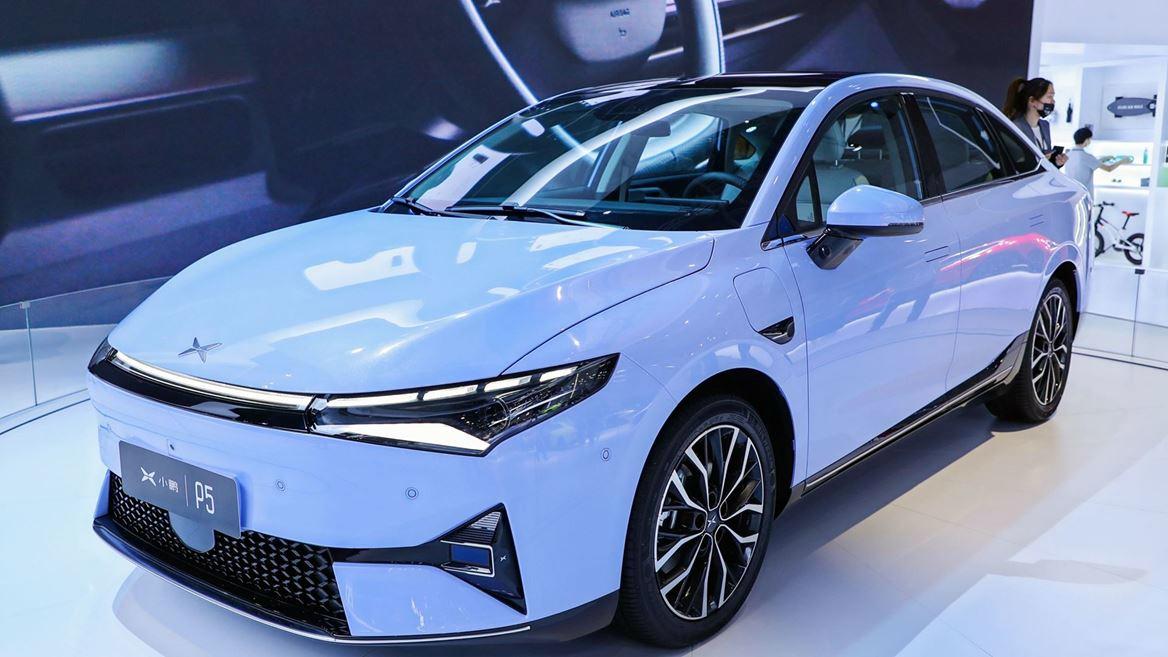 XPeng P5 - sedan giá từ 35.500 USD. Ảnh: XPeng