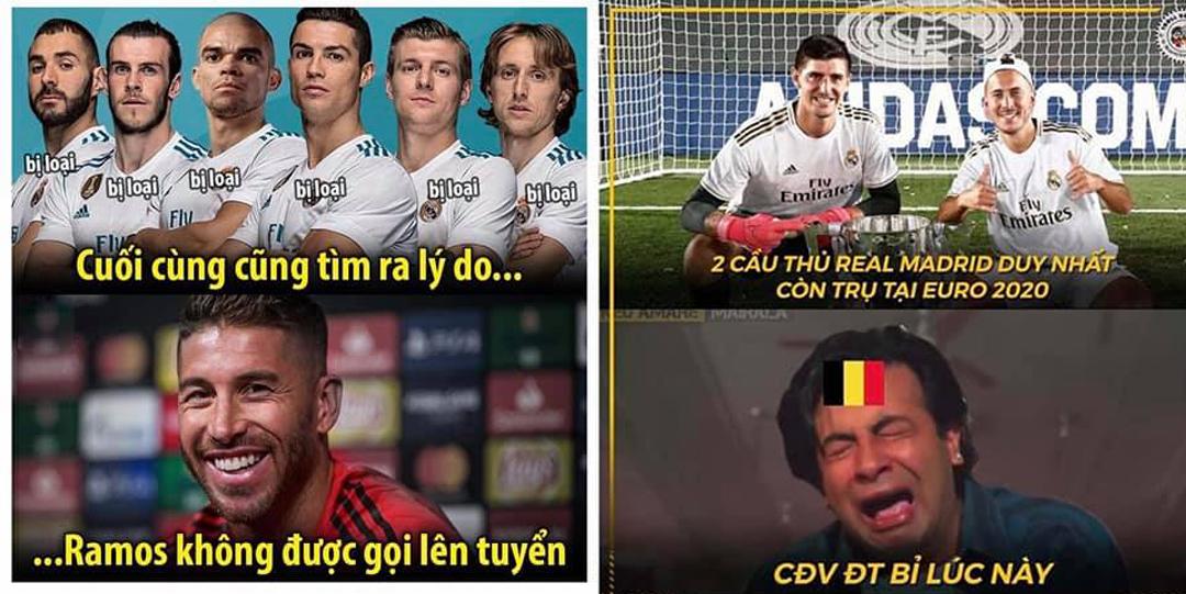 Trước trận tứ kết CĐV tuyển Bỉ đã rất lo lắng...