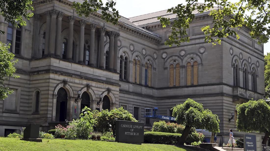 Thư viện- bảo tàng Carnegie Pittsburgh, bang Pensylvania. Ảnh: CNN