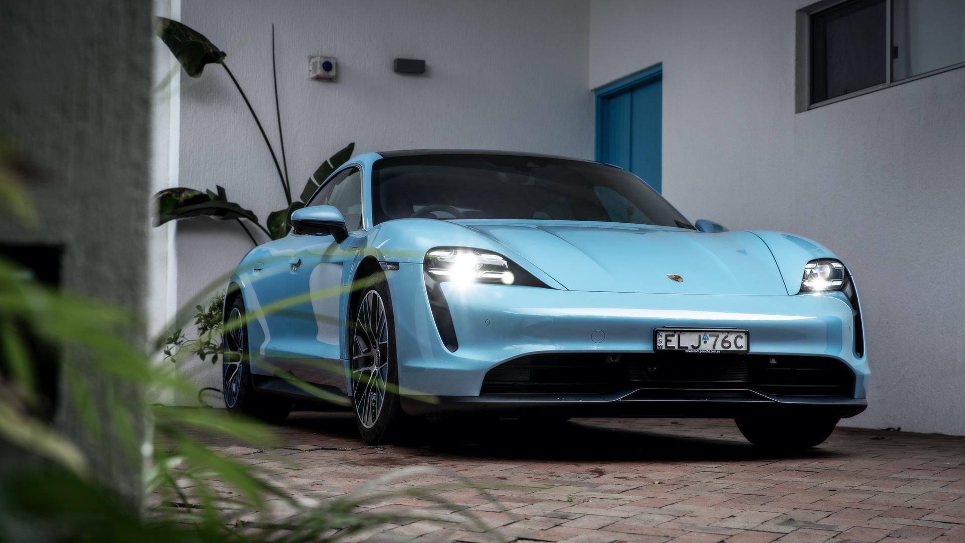 Mẫu Taycan mới được ra mắt trong năm ngoái. Ảnh: Porsche