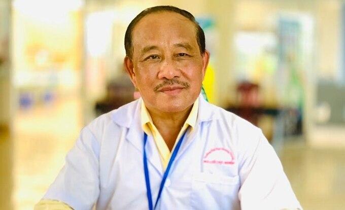 PGS Nguyễn Huy Nga. Ảnh: NVCC