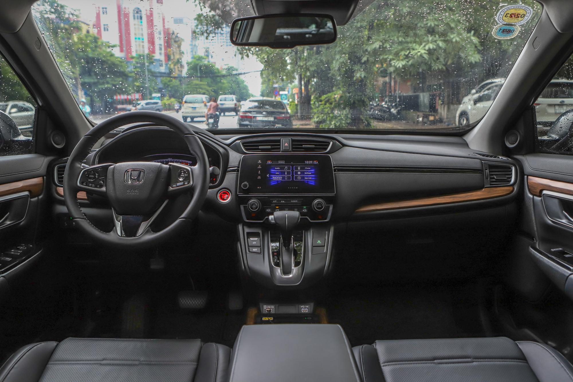 Nội thất Honda CR-V.