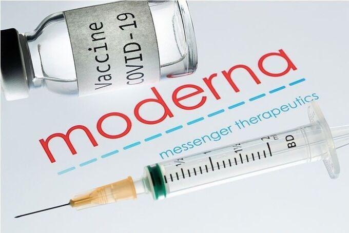 Vaccine Covid-19 sản xuất theo công nghệ mRNA của hãng Moderna. Ảnh: AFP.