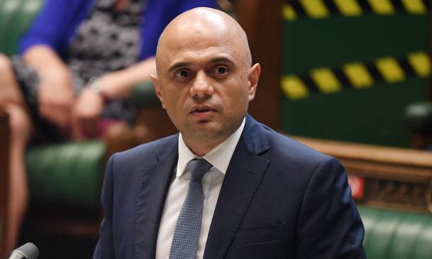 Bộ trưởng Y tế Anh Sajid Javid cập nhật về Covid-19 trước quốc hội Anh hôm 28/6. Ảnh: AFP.
