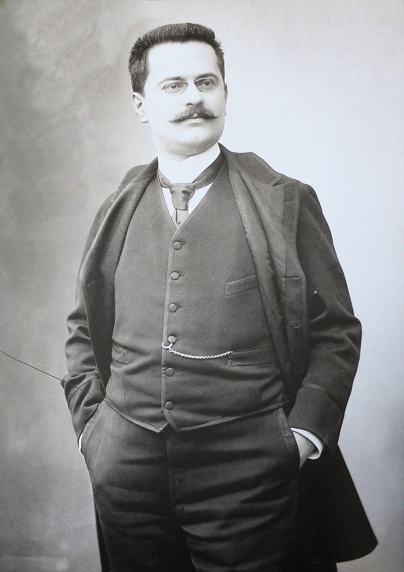Gaston Calmette, Tổng biên tập của tờ nhật báo Le Figaro. Ảnh: Le Monde