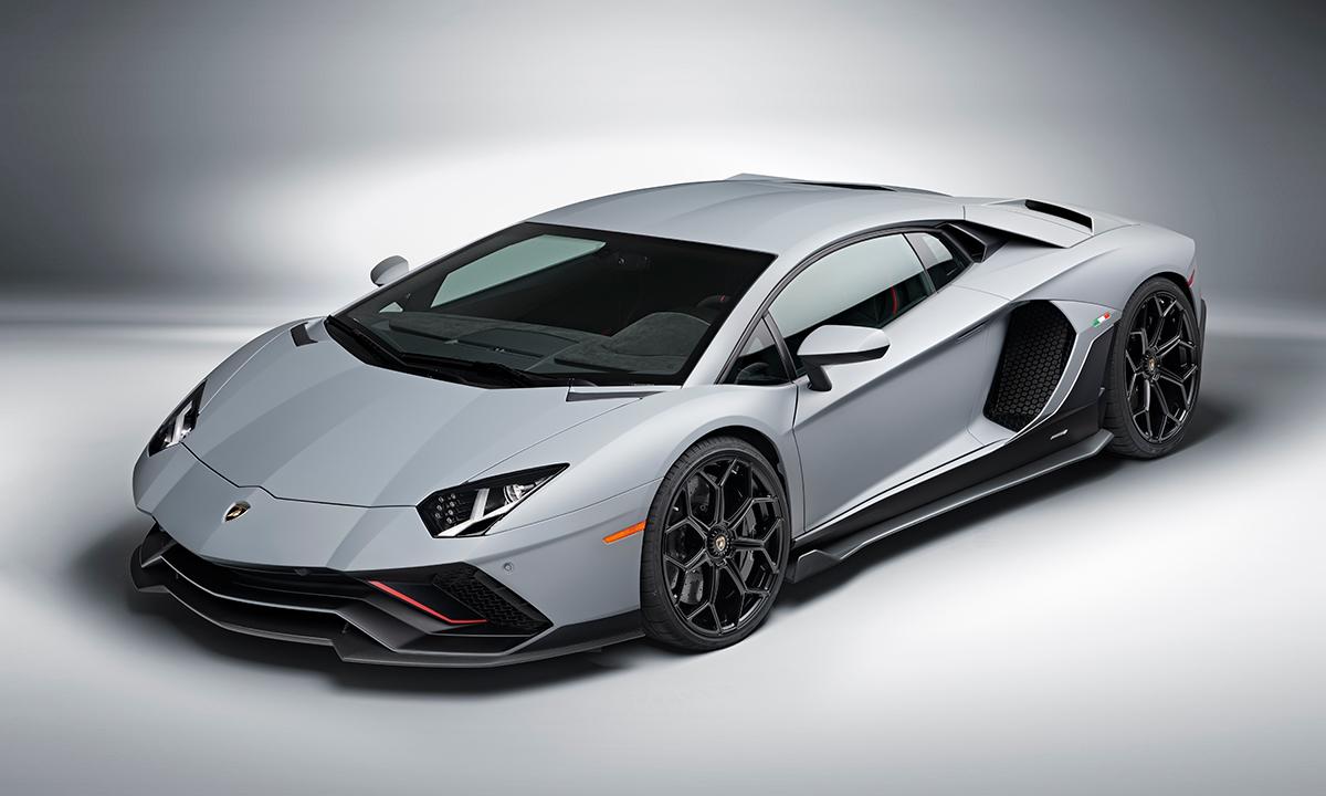 Siêu phẩm Aventador LP780-4 Ultimae bản Coupe giới hạn 350 chiếc. Ảnh: Lamborghini