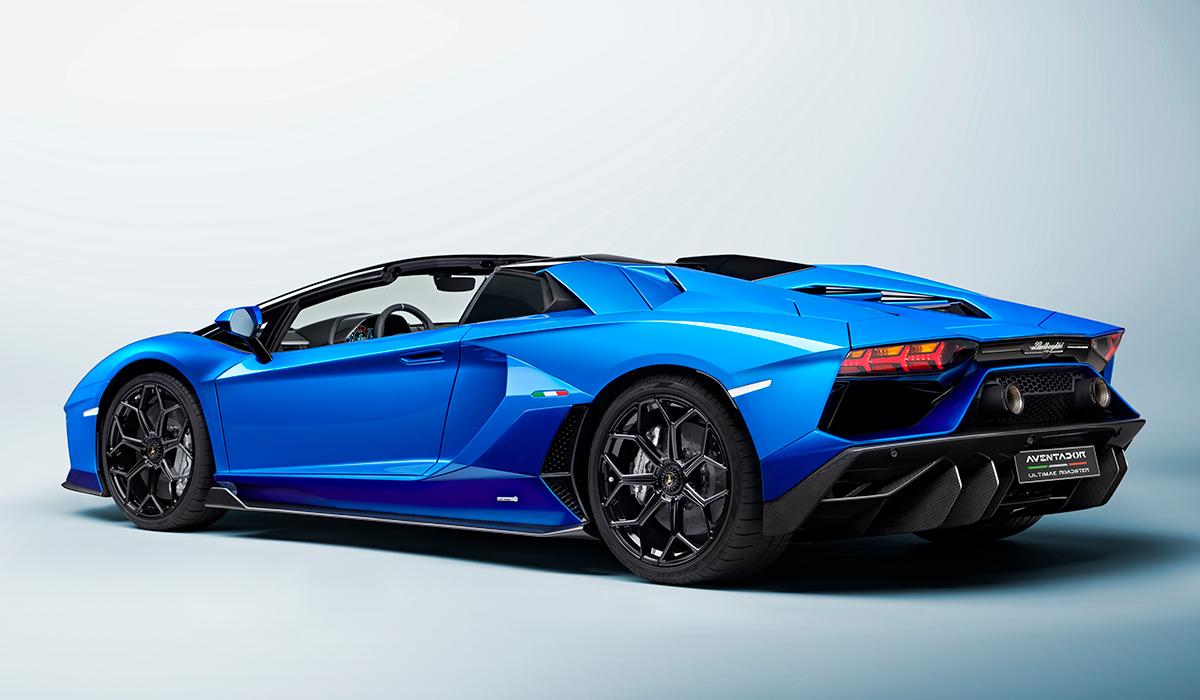 Siêu phẩm Aventador LP780-4 Ultimae bản Roadster giới hạn 250 chiếc. Ảnh: Lamborghini